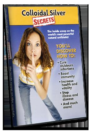 Colloidal Silver Secrets Part I DVD
