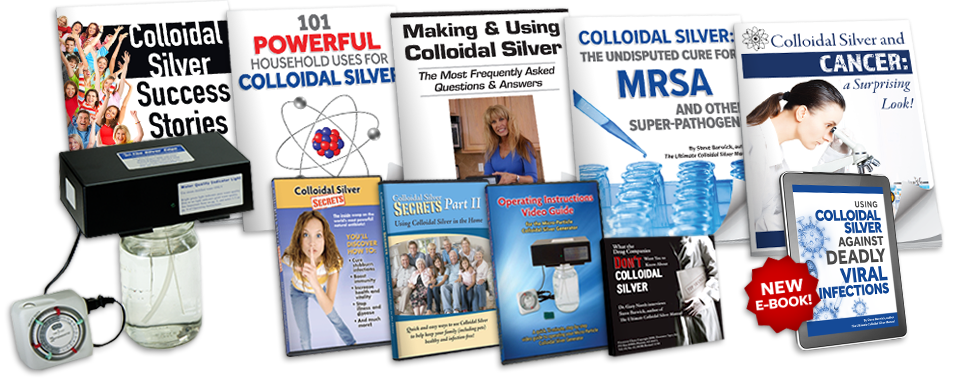 9-Part Crash Course In Making and Using Colloidal Silver